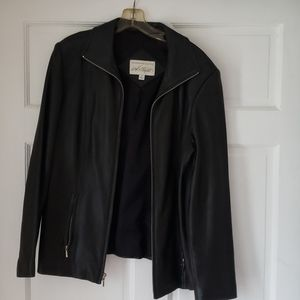 Buttery soft Lord & Taylor leather jacket.